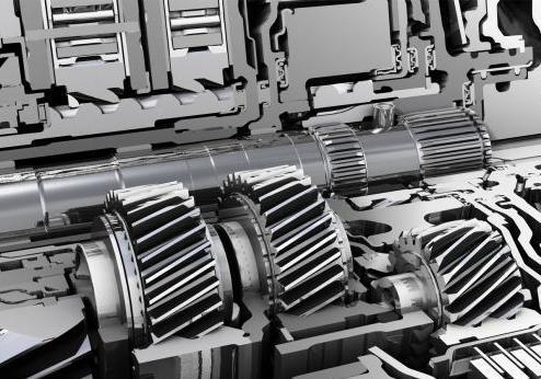 Cambio automatico ZF 9HP dettaglio ingranaggi