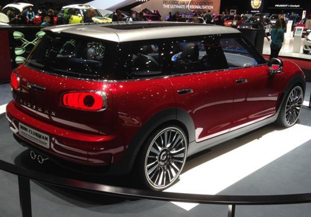 Mini Clubman Concept tre quarti posteriore al Salone di Ginevra 2014