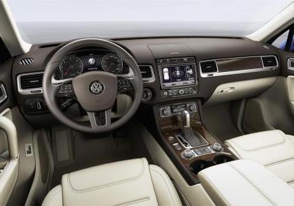 Nuova Volkswagen Touareg plancia