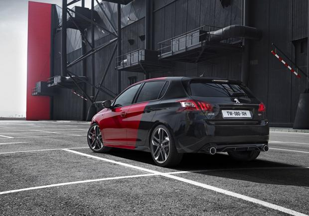 Peugeot 308 GTi by Peugeot Sport posteriore