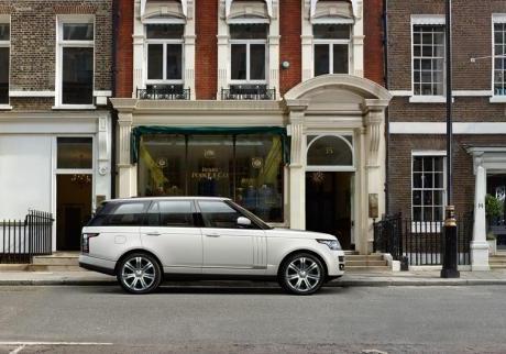 Range Rover Autobiography Black LWB profilo