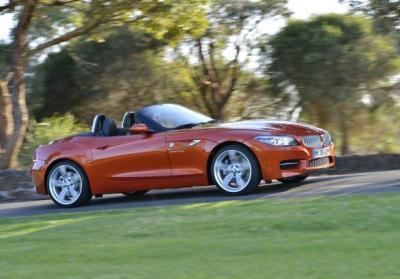 BMW Z4 restyling 2013 profilo lato destro