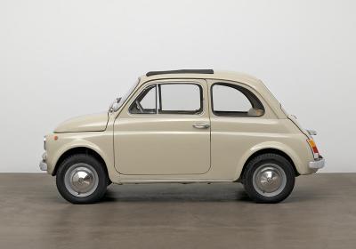 Fiat, una 500 al MoMA di New York