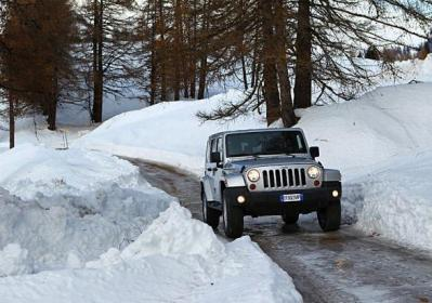 Jeep Wrangler Unlimited my 2013 anteriore