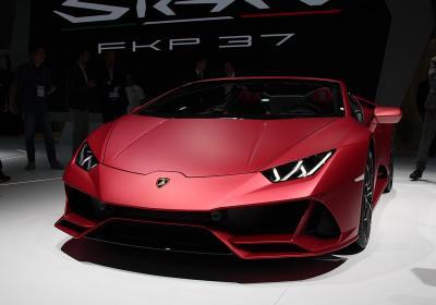Lamborghini Siàn, la più veloce al Salone di Francoforte