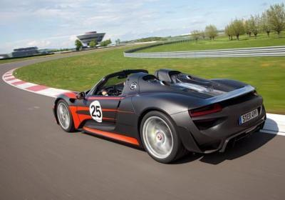 Novità auto 2014 Porsche 918 Spyder