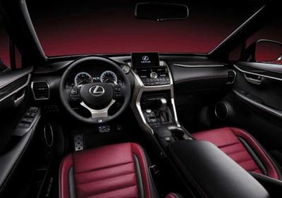 Nuova Lexus NX interni