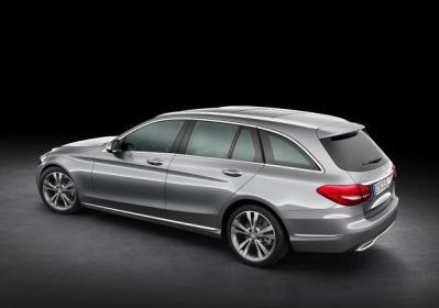 Nuova Mercedes Classe C Station Wagon prime foto ufficiali