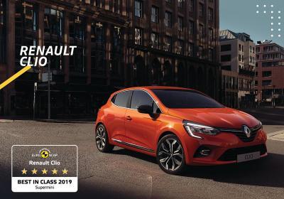 Nuova Renault Clio, la city car più sicura del 2019