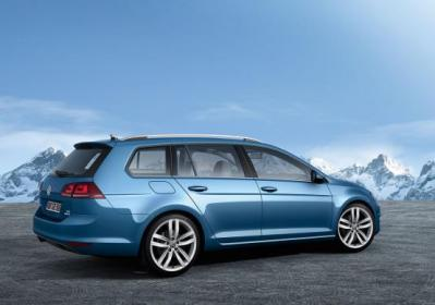 Nuova Volkswagen Golf Variant