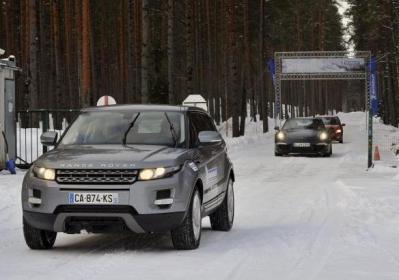 Pneumatici invernali Michelin su Range Rover Evoque