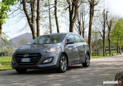 Prova Hyundai i30 Wagon CRDi 110 CV 7DCT