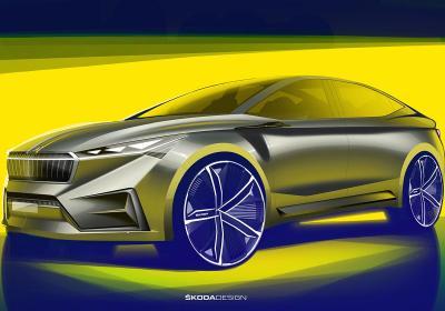 Škoda, l'anteprima della concept Vision iV