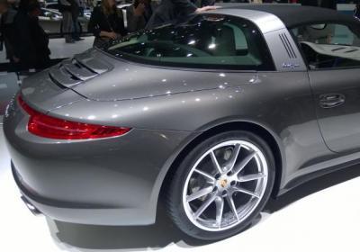 Supercar al Salone di Ginevra 2014 Porsche 911 Targa