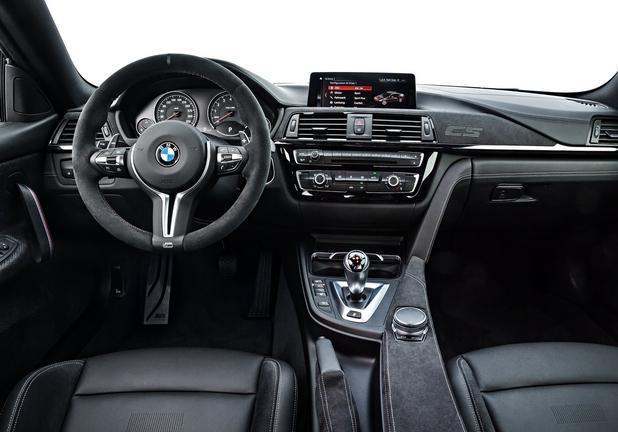 BMW M4 CS interni
