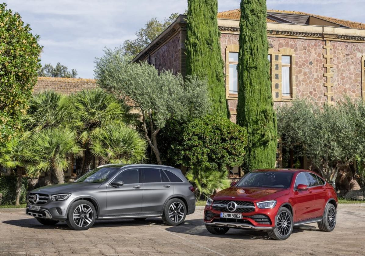 Mercedes GLC facelift 2019 e coupé
