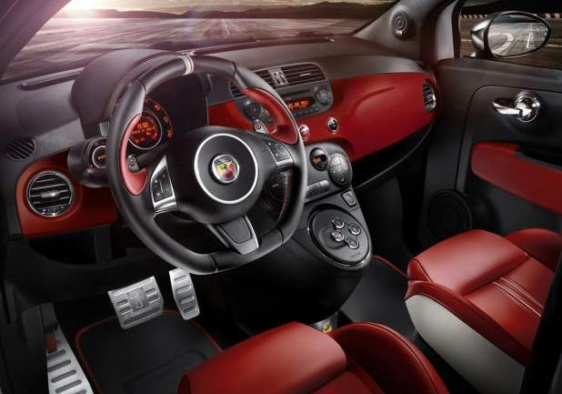 "Abarth 595 ""50° Anniversario"" interni"