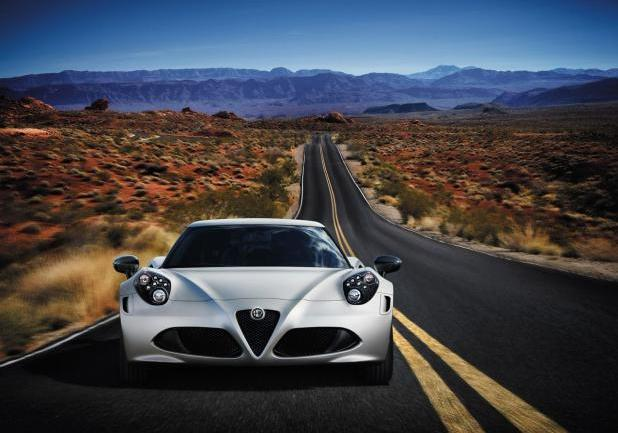 Alfa Romeo 4C Lounch Edition anteriore