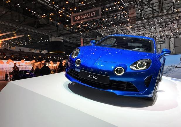Alpine A110 frontale
