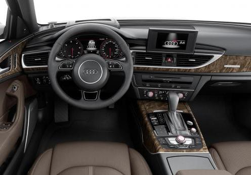 Audi A6 Allroad restyling 2014 interni