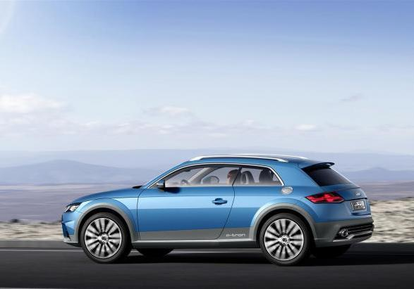Audi Allroad Shooting Brake profilo