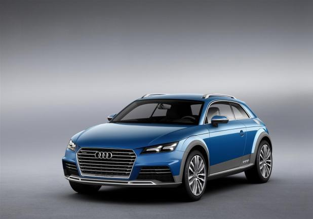 Audi Allroad Shooting Brake tre quarti anteriore