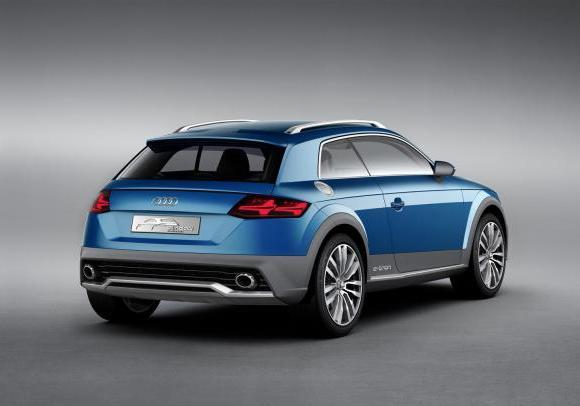 Audi Allroad Shooting Brake tre quarti posteriore