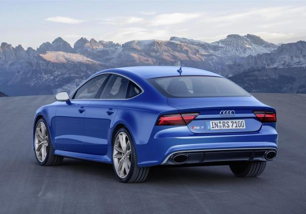 Audi RS 7 Performance posteriore