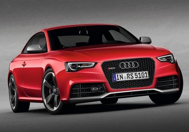 Audi RS5 frontale