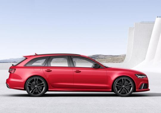 Audi RS6 restyling 2014 profilo