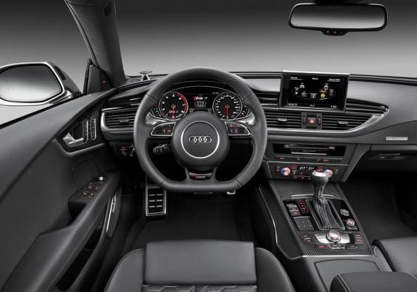 Audi RS7 Sportback interni