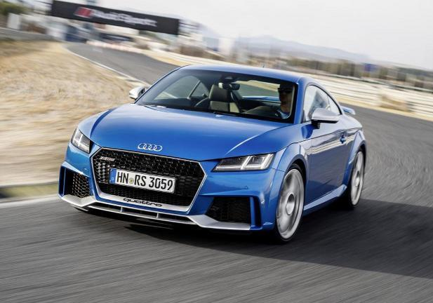 Audi TT RS coupe frontale
