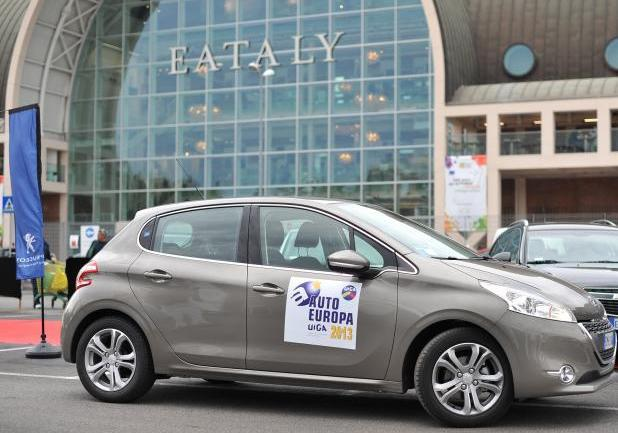 Auto Europa 2013 prima classificata Peugeot 208