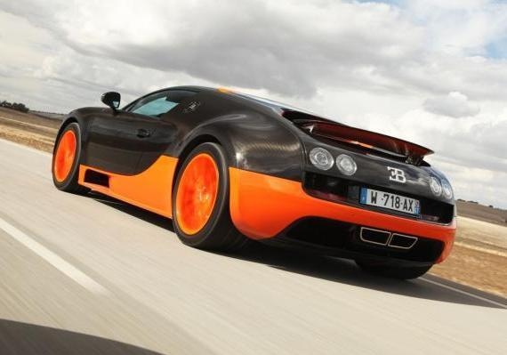 auto più costose del mondo Bugatti Veyron Supersport