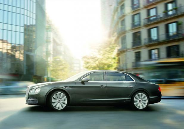 Bentley Continental Flying Spur restyling profilo