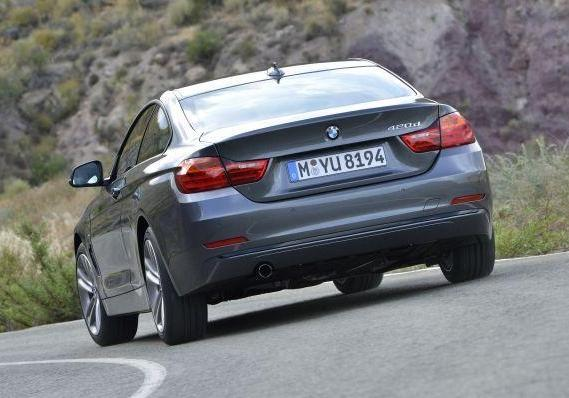 BMW 420d posteriore
