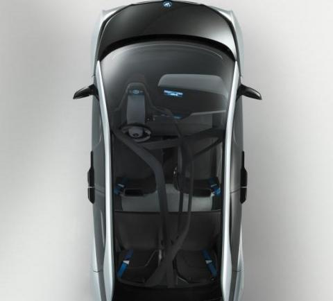 BMW i3 tetto