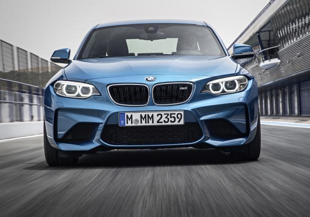 BMW M2 frontale