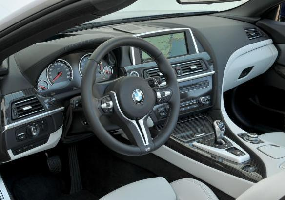 BMW M6 Cabrio interni