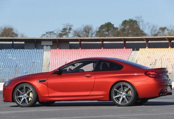 BMW M6 con Competition Package profilo