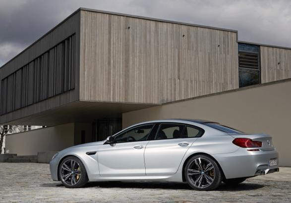 BMW M6 Gran Coupé con Competition Package profilo