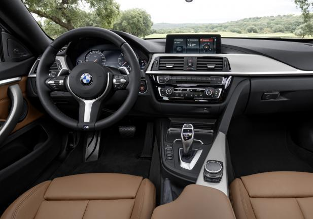 BMW Serie 4 2017 interni