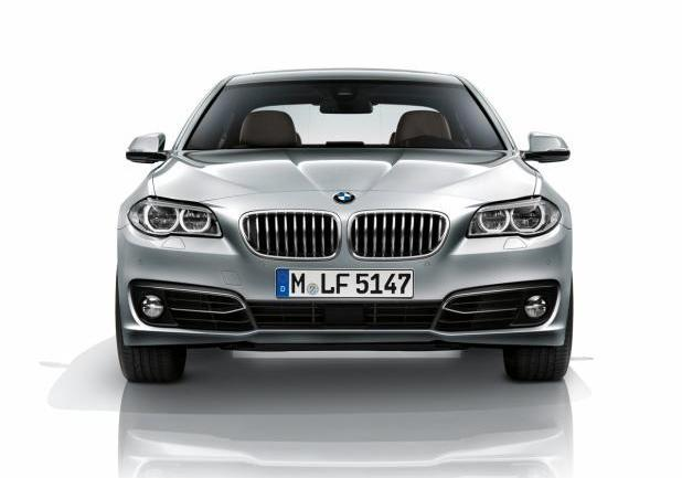 BMW Serie 5 restyling anteriore