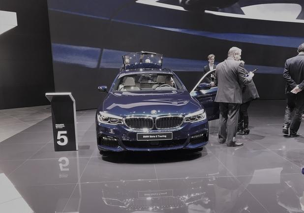 BMW Serie 5 Touring a Ginevra 2017