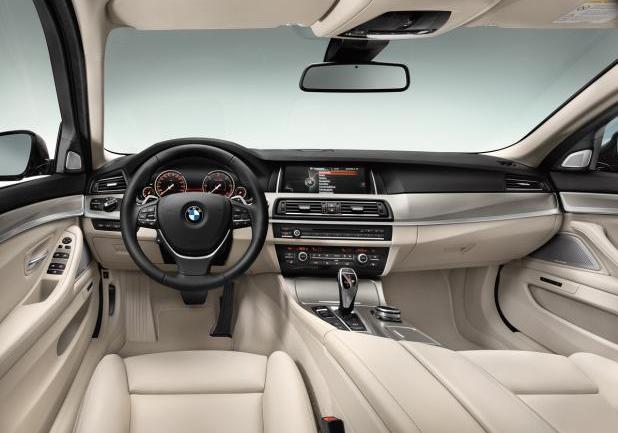 BMW Serie 5 Touring restyling interni