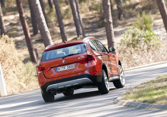 BMW X1 restyling 2012 posteriore