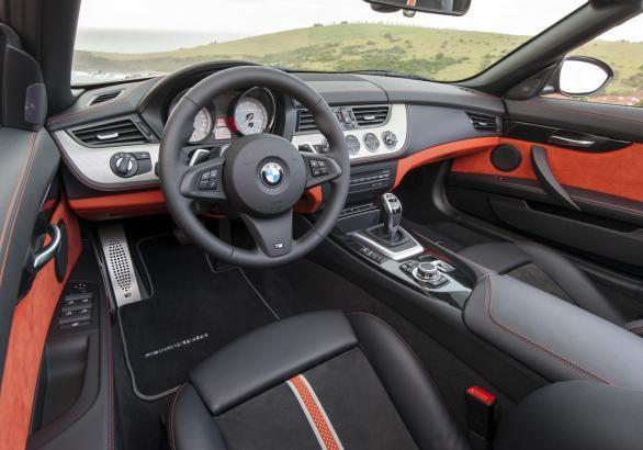 BMW Z4 restyling 2013 interni