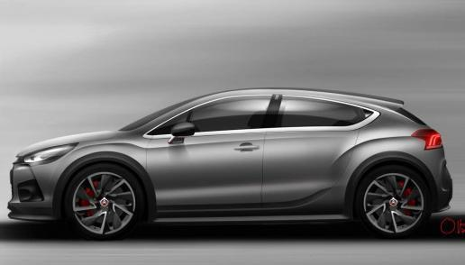 Citroen DS4 Racing Concept 3