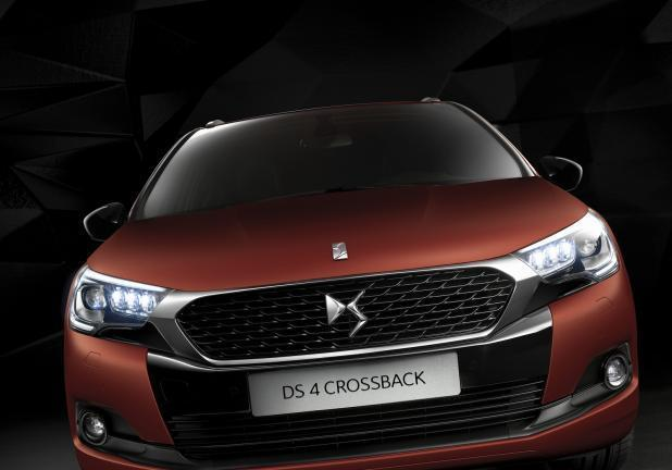 DS4 Crossback frontale