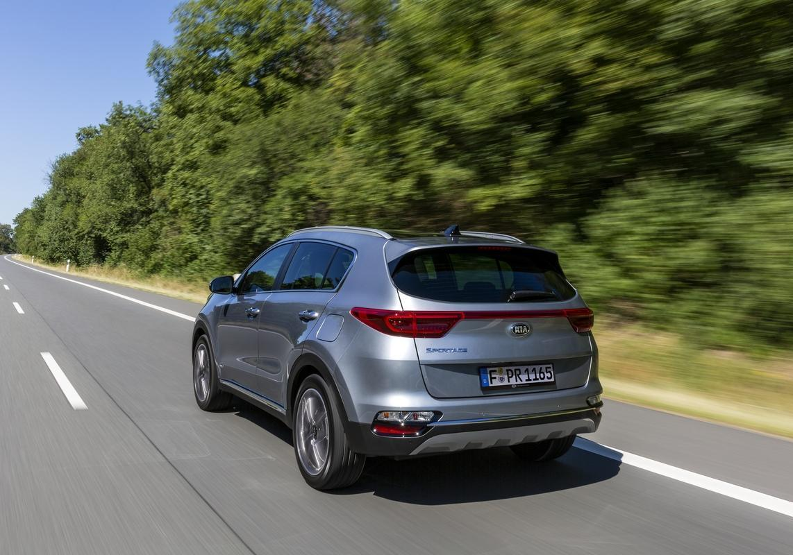 Eco Weeks Kia Sportage GPL